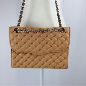 Rebecca Minkoff Quilted Affair Studded Bag
